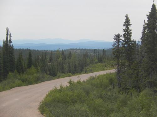 Labrador Highway  afslag naar Cartwright
