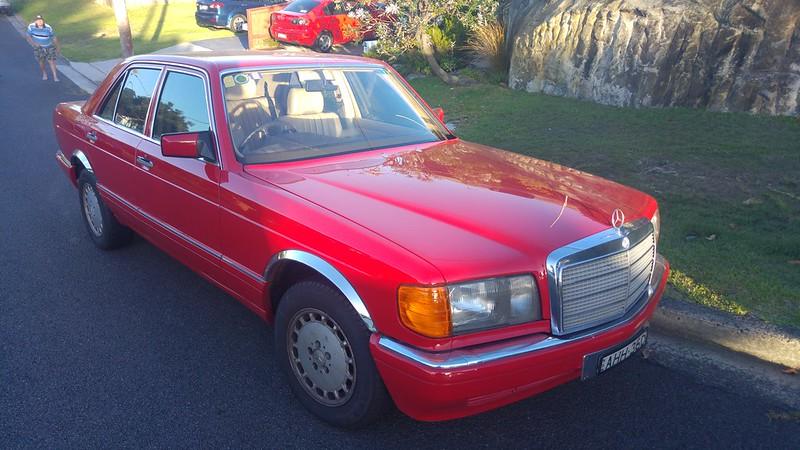My new 1986 300SE W126