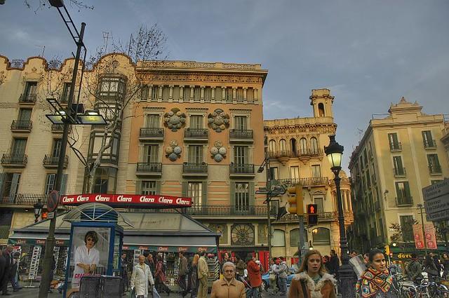 Street life in Barcelona