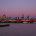 The City of London at Twilight (Tuesday 28 February)