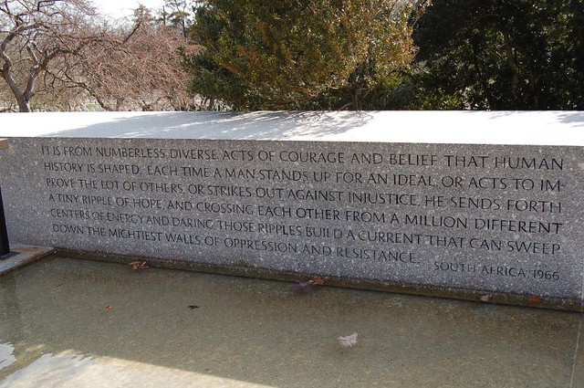 Rfk Grave Quotes: Quote At The Robert Kennedy Memorial