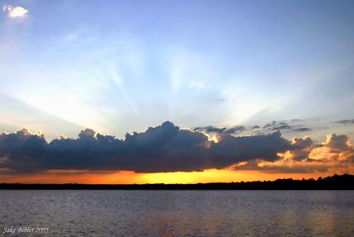 sunset landscape jakebibler