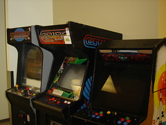 recreation(0.0), arcade game(1.0), video game arcade cabinet(1.0), recreation room(1.0), games(1.0),
