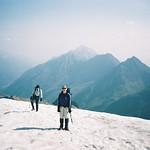 Wilder Freiger (3418m) over small glacier