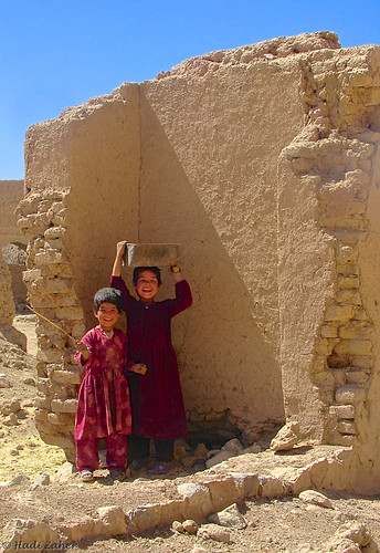 Peace begins with smiles | Bamiyan