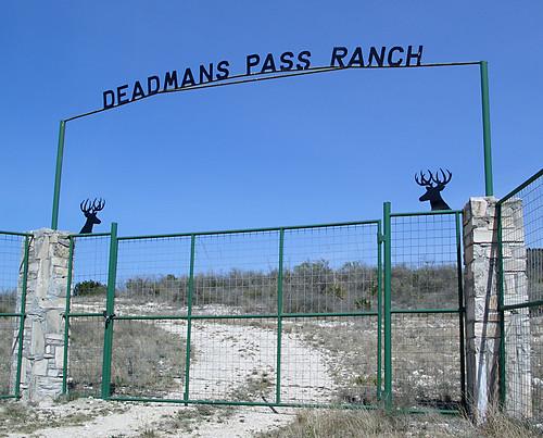 ranch fence geotagged gate texas roadtrip deer geotoolgmif deadmanspassranch geolat29811492 geolon101148725