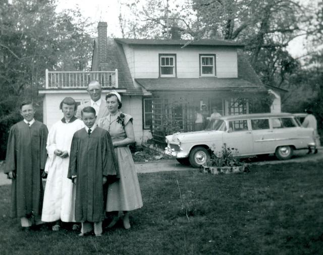steenken family  1955
