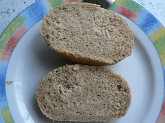 Rolls with unripe spelt grain 1