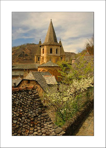 springtime in Conques