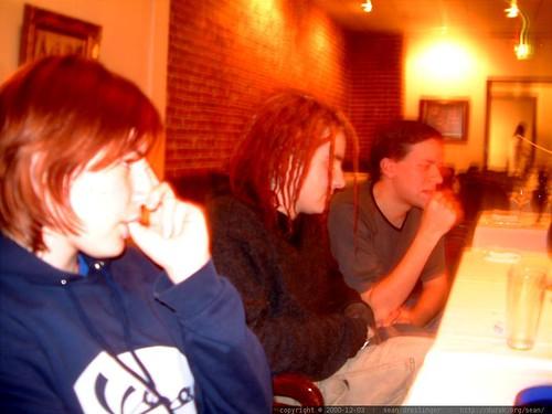 olivia sucks her thumb, xep and eric   dscf1051