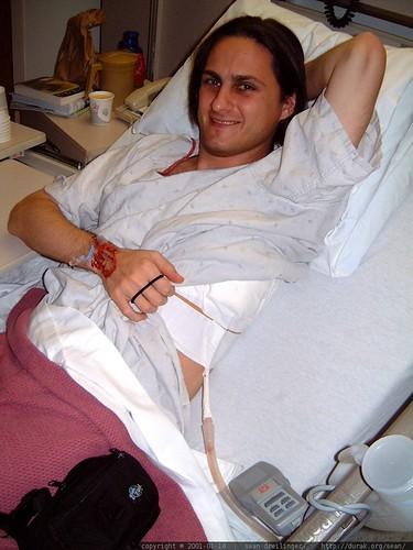 sean shows off his chest tube   dscf1503