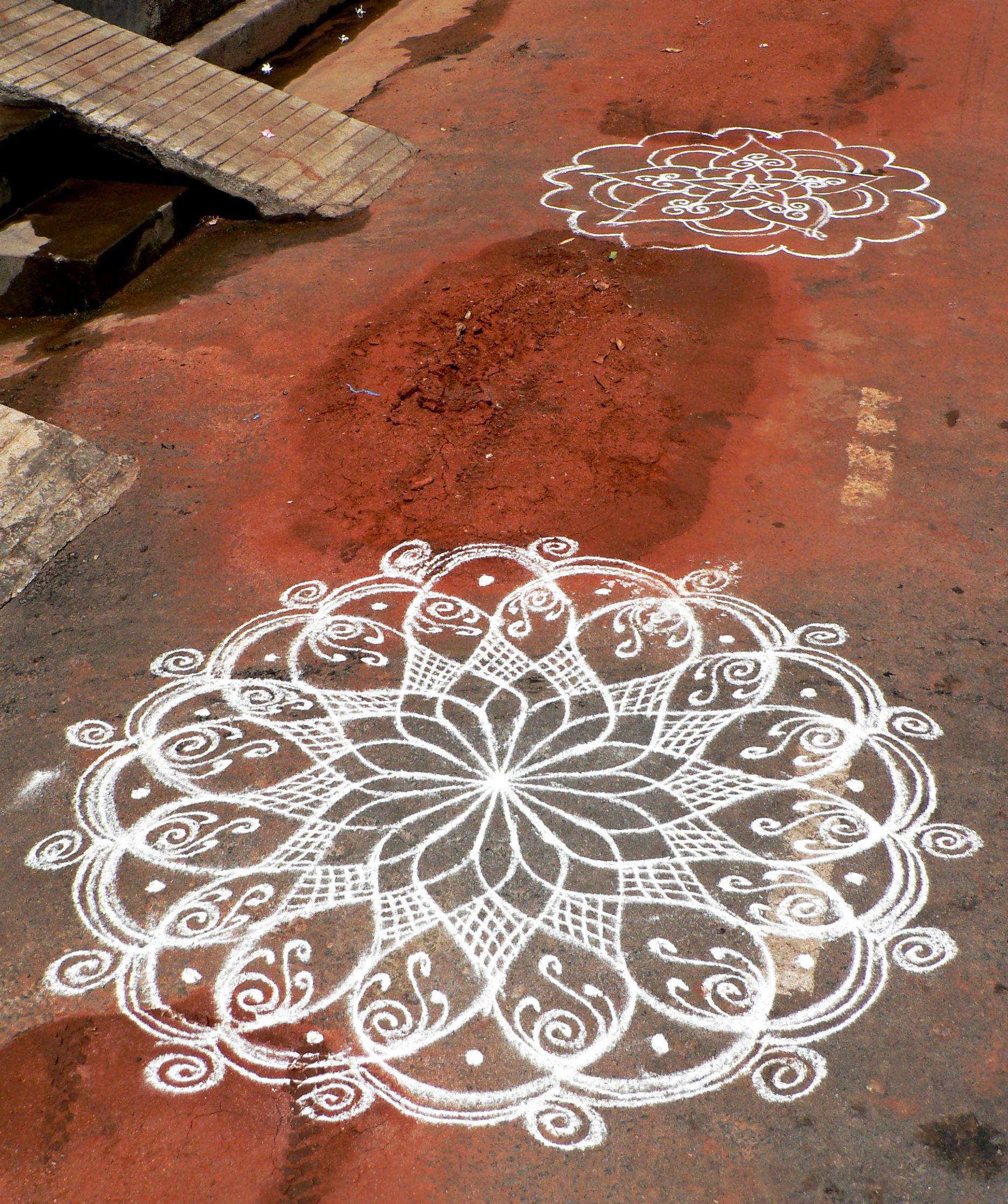 Tattoo Designs Tamil: Geometry On The Pavement