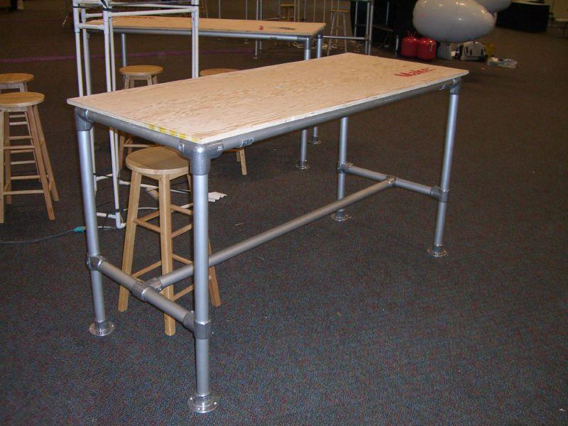Table Frame Kit Rugged Simplified Building Kee Klamp