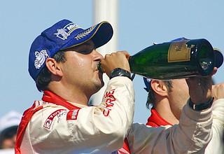 Champion's champagne