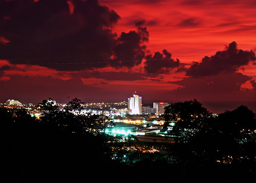 RED SKIES OVER TUMON