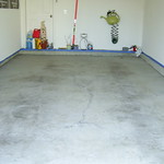Garage Epoxy Project - Before
