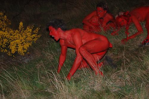 Growling Beltane pagans by Swirley