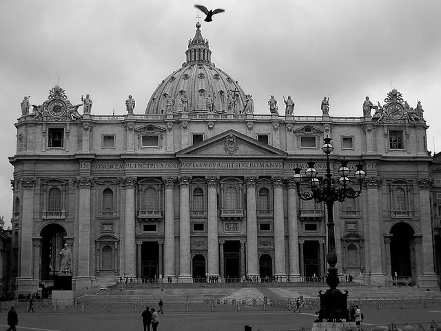 The Papal Basilica of Saint Peter, Vatican City