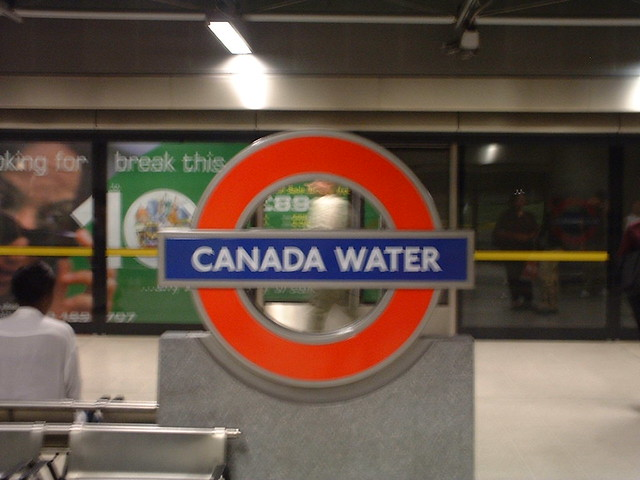 Canada Water station