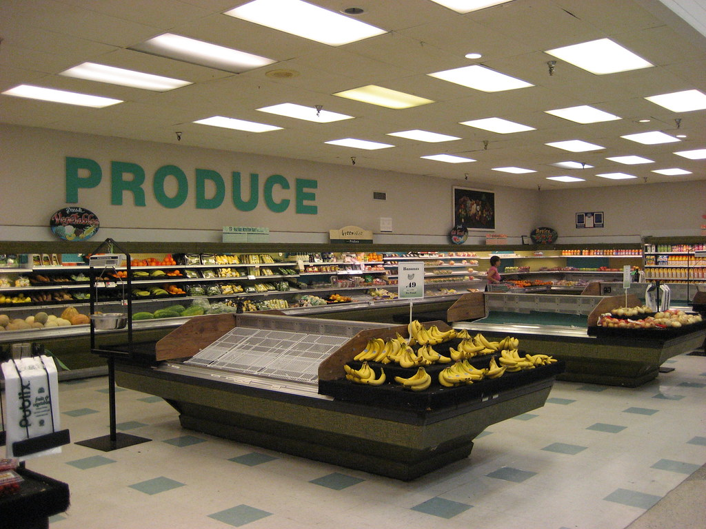 Produce section in the Publix on Apalachee Parkway