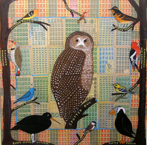 Laura Levine: Birds of North America