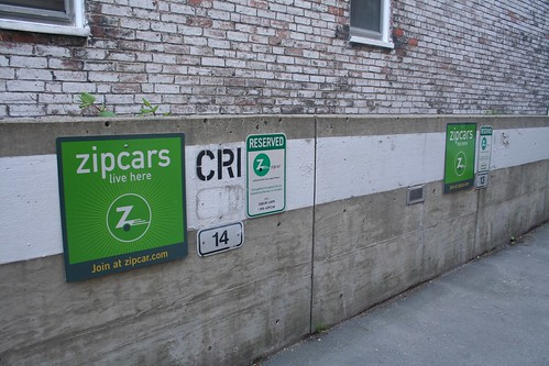 Zipcar (929 Mass Ave., Cambridge)
