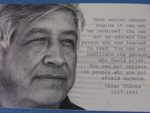 césar and social change