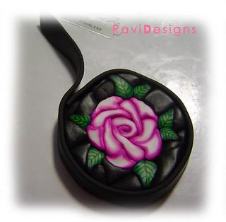 Millefiori rose cane