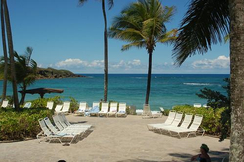 ocean puertorico oceanview dorado loungechairs cerromar