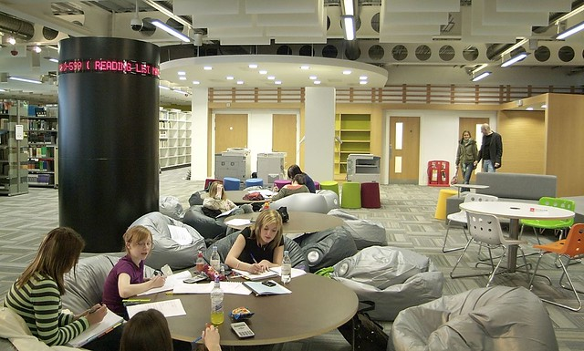 Beanbags And Message Board Saltire Centre Glasgow Caledo Flickr Photo Sharing