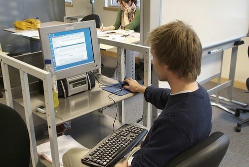 PC Trolley, Learning Grid, University of Warwick