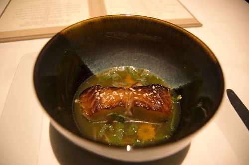 8th Course: Sake-Marinated Black Cod