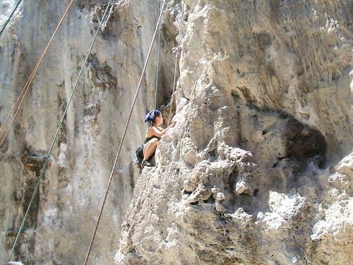 thailand, railay, rock climbing, i-wei DSCF0362