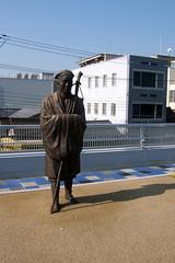 Ishiyama Station statue