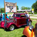 Judging the Stockdale, Ohio Car Show