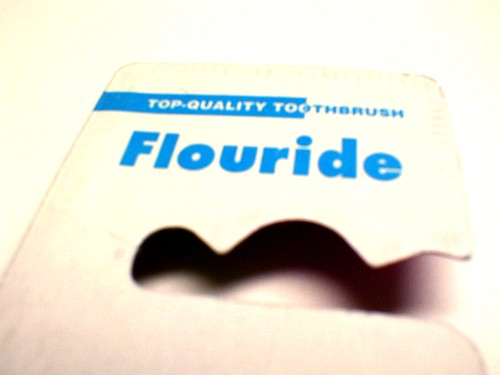 Flouride [sic] toothbrushes