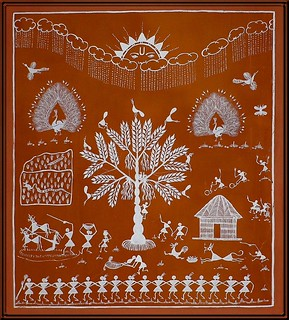 A fine folkart tradition - Warli Painting