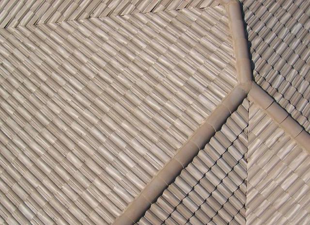 Roof tile patterns flickr photo sharing for Roof tile patterns
