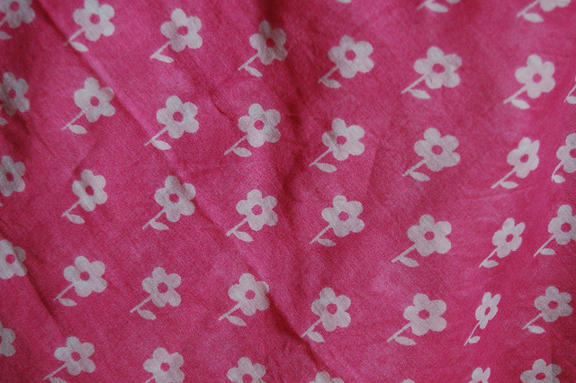 Pink Hankie (thrifted!)