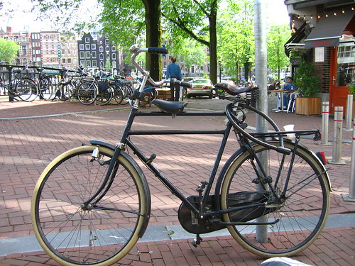 Bicycle with convenience lock