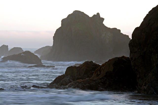 Mendocino Dawn from Flickr via Wylio