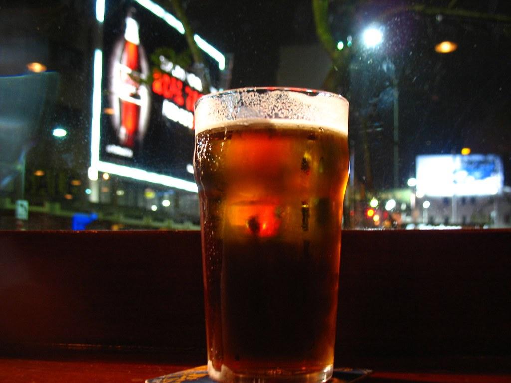 Beer in King's Cross
