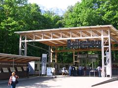 shinto shrine(0.0), shrine(0.0), tent(0.0), outdoor structure(1.0), canopy(1.0), pergola(1.0), pavilion(1.0), gazebo(1.0),