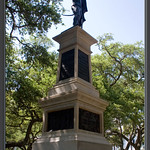 Statue honoring the defenders of Fort Moultrie