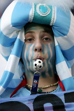 FBL-WC2006-MATCH05-ARG-CIV-SUPPORTER