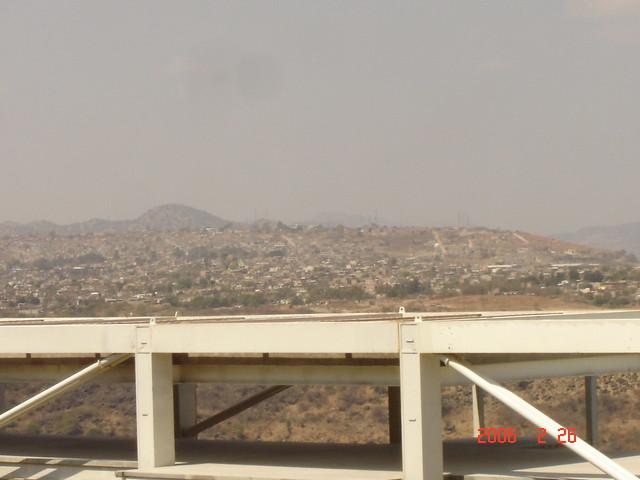 Guadalajara - Mirando hacia el barrio de Huentitán el Bajo.