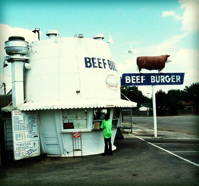 Beef Burger, Fujifilm FinePix A310