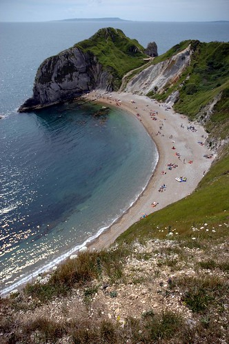 View from Lulworth cliffs
