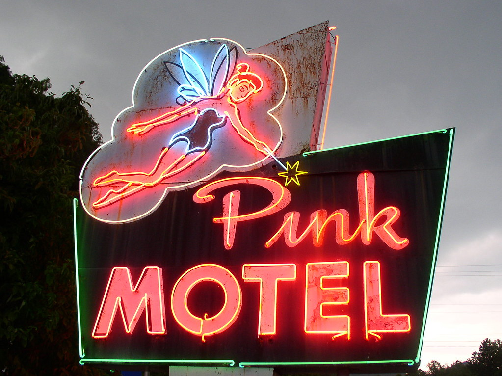 Pink Motel Illuminated