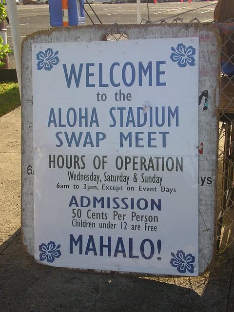 aloha stadium swap meet oahu hawaii